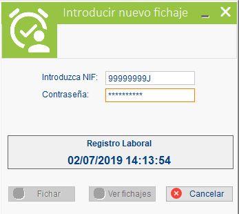 Registro jornada laboral en SOFTalvet